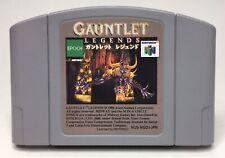 N64 Gauntlet Legends Japan Import *US Seller* *Authentic* *Cleaned* *Tested*