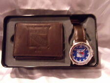 NHL NY RANGERS WATCH AND WALLET GIFT SET SPARO