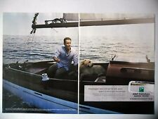 PUBLICITE-ADVERTISING :  BNP PARIBAS [2pages] 2014 Banque,Yachting,Chien