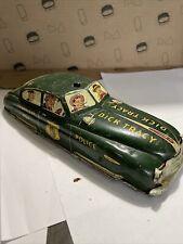 1950s Marx Wind Up Tin Litho Dick Tracy Squad Car No 1