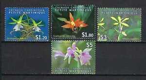 Grenada Grenadines 2010 Sc#2746-9  Orchids  MNH Set $8.50