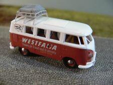 1/87 Brekina # 1724 VW T1 b Camper Westfalia weiß/rot Sondermodell