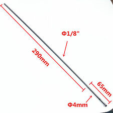 350mm length 4mm prop hard shaft and 1/8 (3.175mm) flex cable for rc boat 374