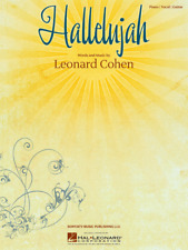 'Hallelujah' by Leonard Cohen Piano Vocal Sheet Music
