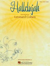 'Hallelujah' by Leonard Cohen Piano Vocal Sheet Music