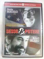 SESSO & e POTERE (1997) DVD - Dustin Hoffman, De Niro, Barry Levinson DVD