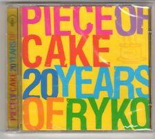 (GQ306) Piece of Cake, 20 Years of Ryko, 20 tracks - 2003 - Sealed Mojo CD