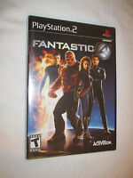 Fantastic 4 (Playstation PS2) Brand New, Sealed!