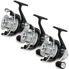 3 x BIG PIT CARP FISHING REEL THE ONE WITH 5+1 BALL BEARINGS & SPARE SPOOL