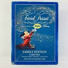Trivial Pursuit Featuring Magic Of Disney Family Ed Card Set Adult / Kids