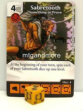 Marvel Dice Masters - 3x #053 Sabretooth Something to Prove - The Uncanny X-Men