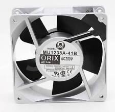 ORIX MU1238A-41B 12038 120mm 12cm 200V Oriental motor inverter cooling fan