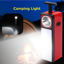 Solar Rechargeable LED Flashlight Lantern Emergency Night Lamp Outdoor Camping