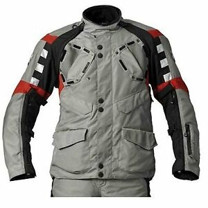 BMW Rallye Men Jacket - Grey Red - Fast Shipping
