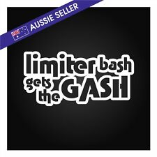 Limiter Bash Gets The GASH Sticker Decal - Suit S13 AE86 R31 R32 VT VE IS200 M3