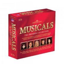 LIZA MINNELLI/JASON DONOVAN/+ - MUSICALS-THE PREMIER COLLECTION  3 CD  NEW!