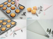 Silicone Cake Piping Bag Icing Cream Pastry Cookies Decorating Reusable 6 Nozzle