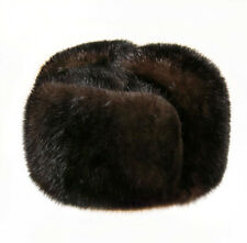 "Russian Winter Hat ""Ushanka ""- Natural Mink Fur"