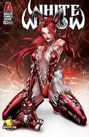 WHITE WIDOW #3 DRAGON CON BLOOD BUNNY VARIANT COVER SIGNED, COA, NM