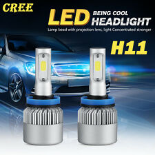 CREE H11 200W 20000LM LED Headlight Kits Bulbs Light Lamp White 6000K HID Fog H9