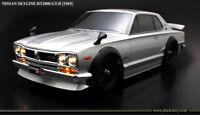 ABC-Hobby 66093 1/10 Nissan Skyline HT2000 GT-R mit Chrom Stoßfängern