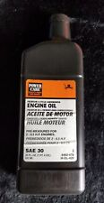 TPG -  Power Care Engine Oil 4 Cycle SAE 30 Tractor and Lawn Mower 20 oz.