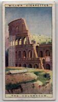 Colosseum Rome Italy Flavian Amphitheatre  90+  Y/O Ad Trade Card