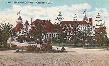 Hotel del Coronado in Coronado CA Postcard