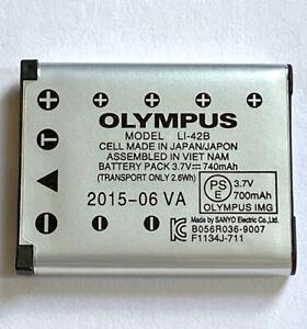 original Olympus LI-42B Li-Ion Rechargeable Battery  for Olympus FE series
