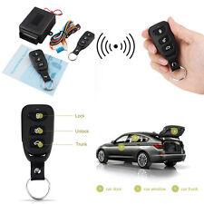 Universal Remote Lock System Kits Car Keyless 3B Control For Door Windows Trunk