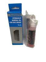 Shimano Mineral Oil for Bleeding Hydraulic Disc Brakes MTB 50 ML Cycling Gear
