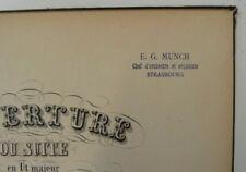 ex- Ernst Munch score / partitur BACH orchestral suites bwv 1066-1069