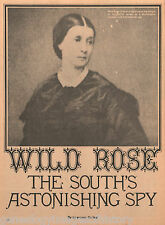 Wild Rose - The South's Most Astonshing Spy