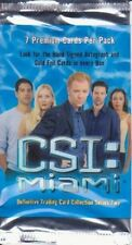 CSI MIAMI - SEASON 1 COMPLETE SET CARDS 1-100