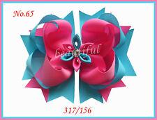 10 Good Girl Costume Boutique 6.5 Inch Romantic Hair Bows Clip 98 No.  Custom
