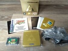 Nintendo Gameboy Advance SP Zelda Limited Edition Pak - Near Mint Condition