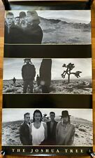 U2 The Joshua Tree Rare original vintage promo poster 1987
