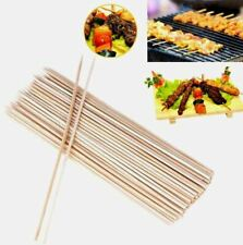 Bamboo Skewers Sticks 150pcs For BBQ Kebab Fruit Wooden Sticks 12Inch (30CM)