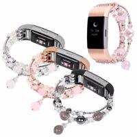 Neu Elegant Jewelry Edelstahl Ersatz Uhrenarmband Armbänder Für Fitbit Charge 2