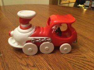 Train Engine Dr. Seuss Enterprises Whimsical Wheels ERTL