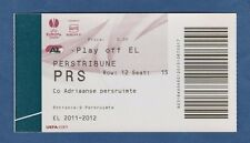 Original Ticket  Europa League  2011/12   AZ ALKMAAR - AALESUNDS FK  !!  SELTEN