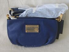 NWT Auth Marc by Marc Jacobs Classic Q Percy Crossbody Bag Blue Clutch Purse
