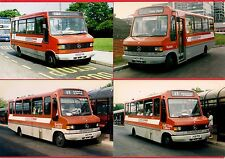 4 Bus Photos ~ Midland Red South - Mercedes Minibuses - Nuneaton Solihull 1992/4