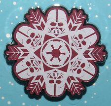 Disney Star Wars Darth Vader Snowflake Booster Starter Pin New Out of Package