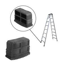 Black 2PCs Rubber Ladder Feet Non-Slip Step Ladder Grip Feet Foot Replacement TP