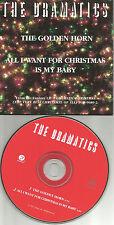 THE DRAMATICS Golden Horn / All I want for Christmas PROMO Radio DJ CD single 99