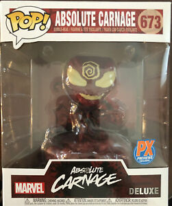 Funko Pop! Absolute Carnage Deluxe Marvel Previews PX Exclusive IN STOCK Pop 673