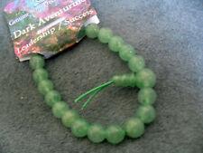 semi-precious stone: Dark Aventurine-beads NWT