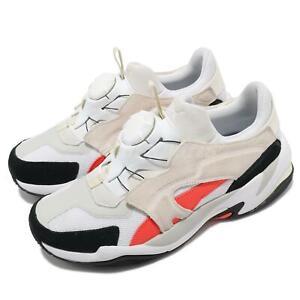 Puma Thunder Disc White Grey Ivory Orange Men Casual Sneaker Shoes 369355-04