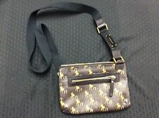 L.A.M.B (Gwen Stefani) Crossbody Handbag Brown With Lamb Pattern